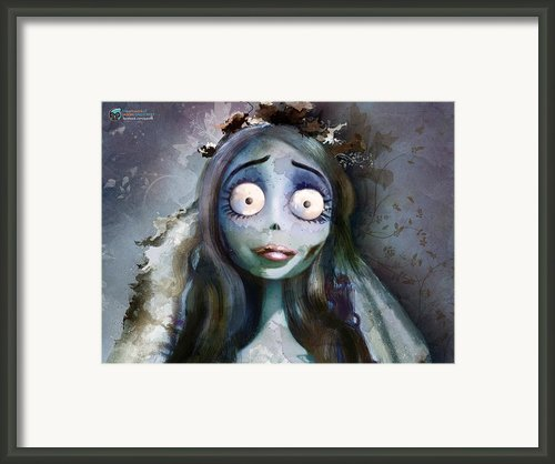 Corpse Bride Framed Print By Jason Longstreet