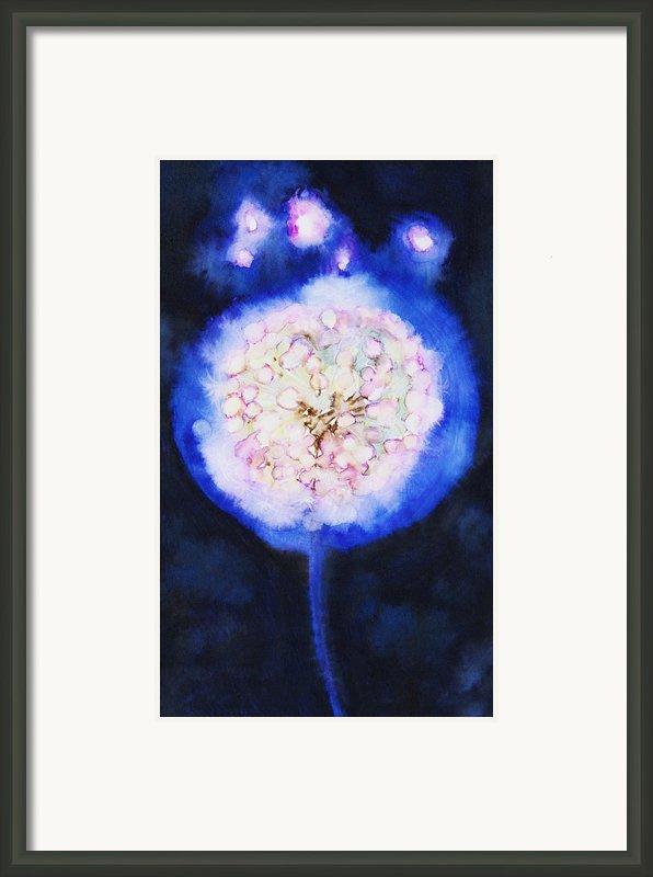 Cosmic Bloom Framed Print By Tara Thelen