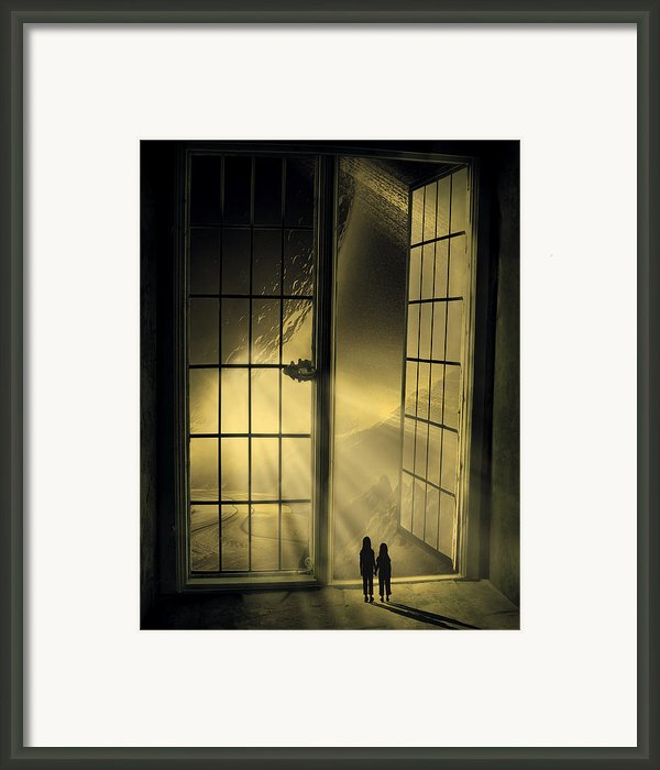 Cosmic Rays Framed Print By Svetlana Sewell