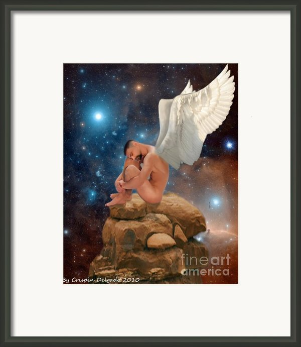 Cosmic Skies Framed Print By Crispin  Delgado