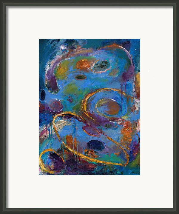 Cosmos 237 Framed Print By Johnathan Harris