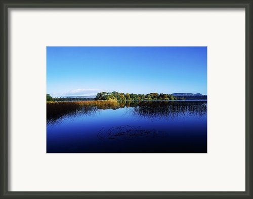 Cottage Island, Lough Gill, Co Sligo Framed Print By The Irish Image Collection