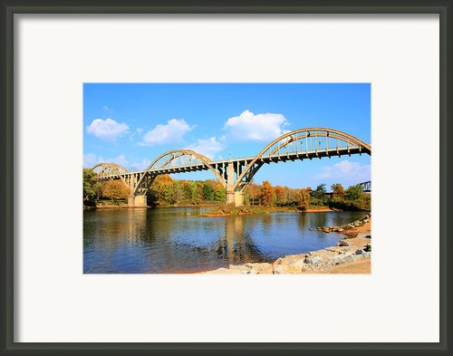 Cotter Arkansas Bridge Framed Print By Geary Barr