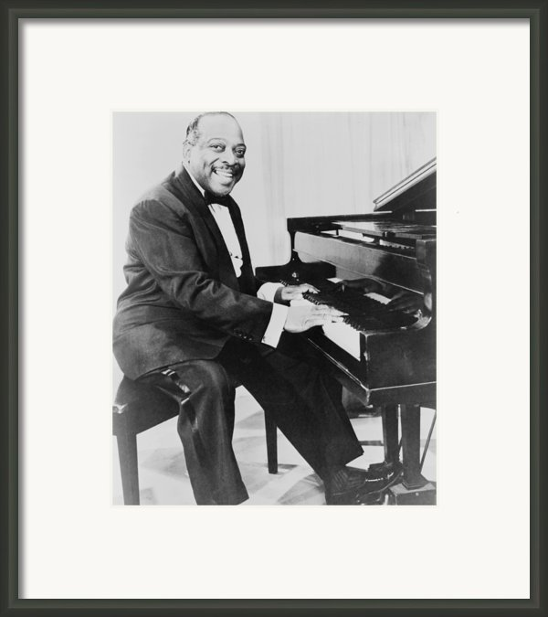 Count Basie 1904-1984, African American Framed Print By Everett