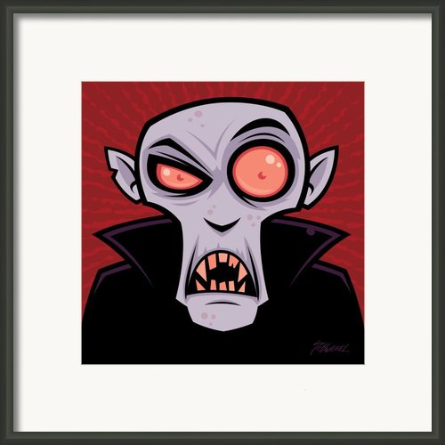 Count Dracula Framed Print By John Schwegel