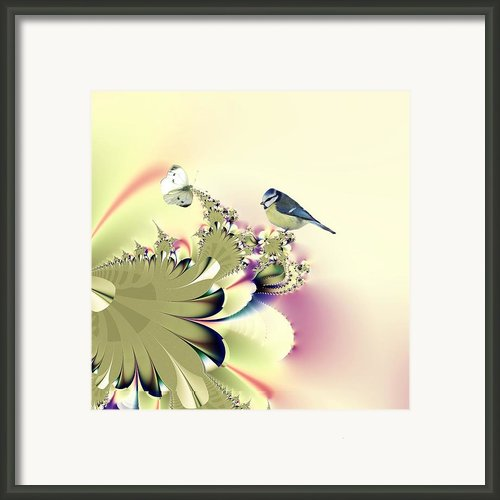 Country Garden Framed Print By Sharon Lisa Clarke