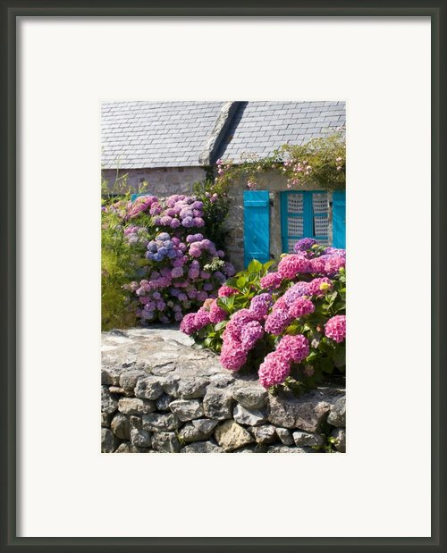 Country Style Framed Print By Sophie De Roumanie