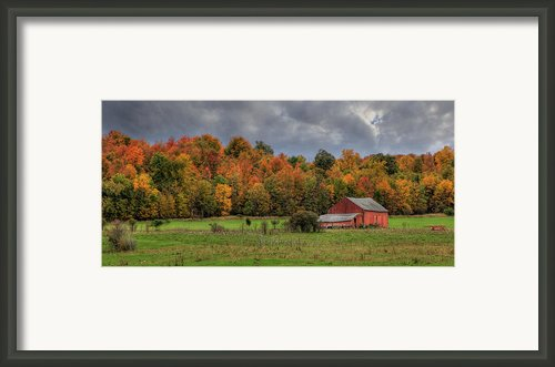 Country Time Framed Print By Lori Deiter