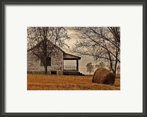 Country World Framed Print By Victoria Lawrence