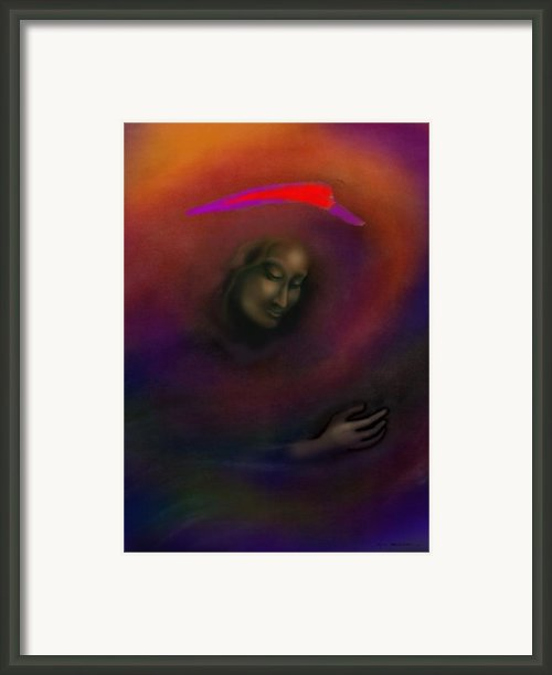 Courage To Create Framed Print By Kevin Middleton