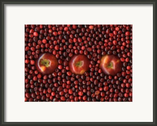 Cranapple Framed Print By Christian Slanec