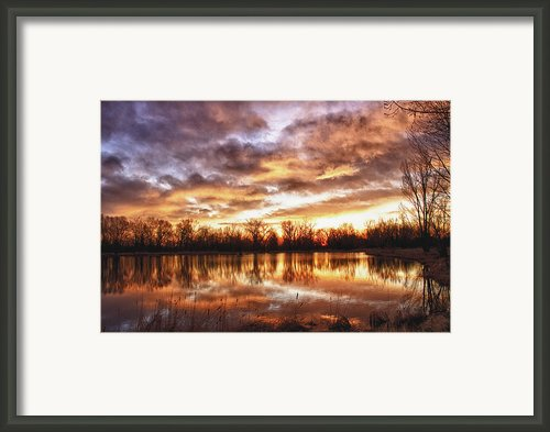 Crane Hollow Sunrise Boulder County Colorado Hdr Framed Print By James Bo Insogna
