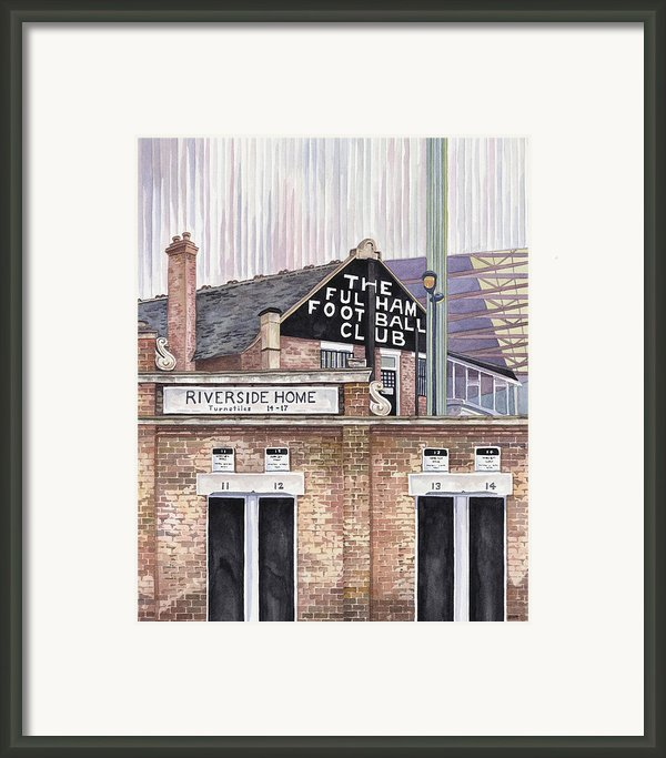 Craven Cottage Framed Print By Scott Nelson
