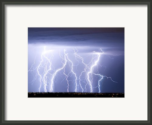Crazy Skies Framed Print By James Bo Insogna