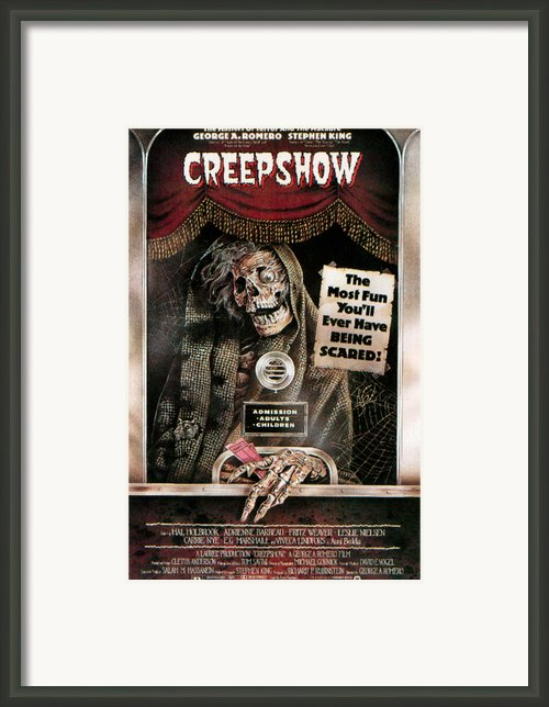 Creepshow, 1982 Framed Print By Everett