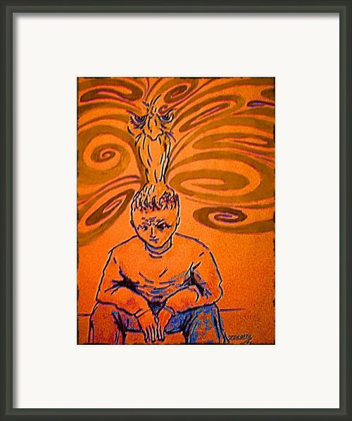 Crisis Of Conscience Framed Print By Paulo Zerbato