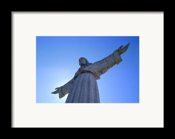 Cristo Rei Framed Print By Anonymous