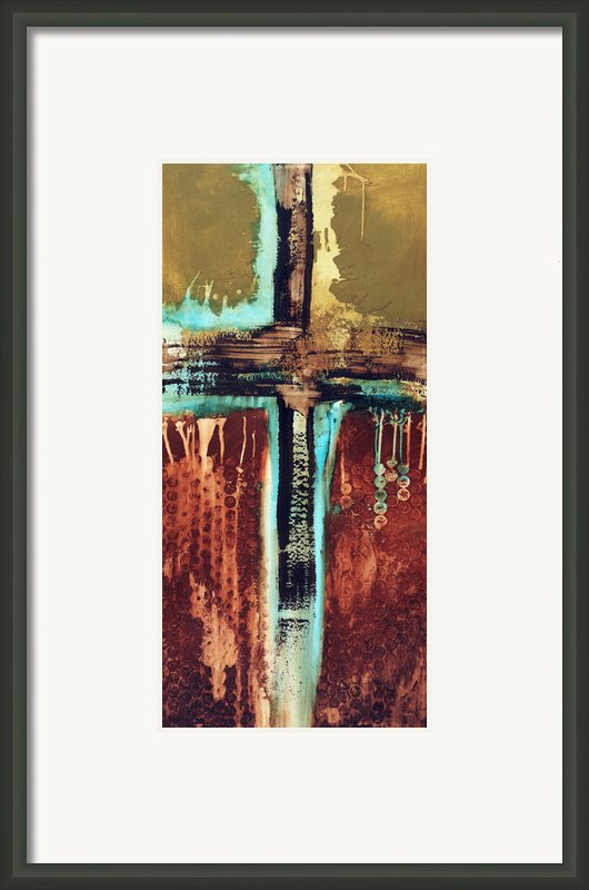 Cross Art 110612 Framed Print By Michel  Keck