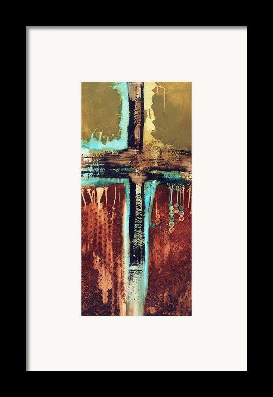 Cross Art 110612 Framed Print By Michel  Keck