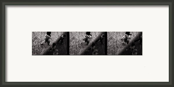 Crossing The Shadow Line Framed Print By Bob Orsillo