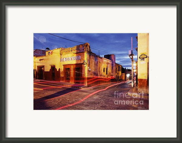Crossroads Framed Print By Jeremy Woodhouse