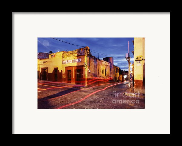 Crossroads Framed Print By Jeremy Woodhouse
