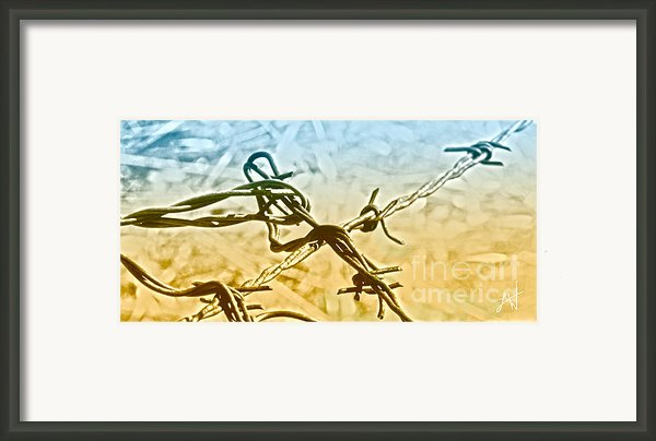 Crossroads Of Faith Framed Print By Artist And Photographer Laura Wrede