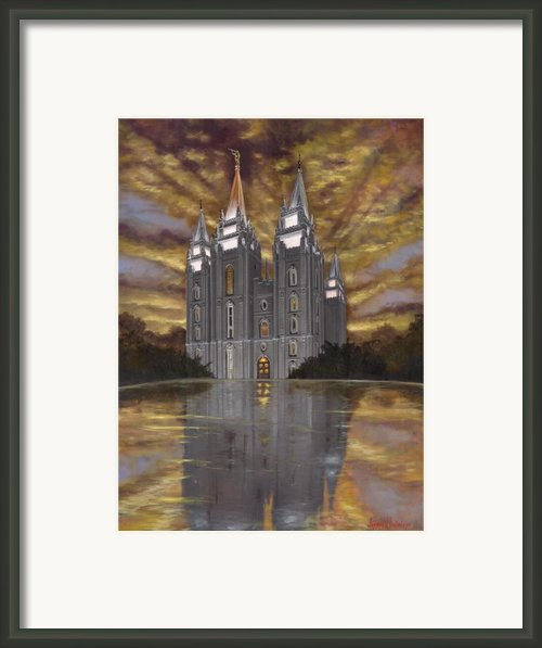 Crowned With Glory Framed Print By Jeff Brimley
