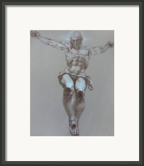 Crucifixion Framed Print By Valeriy Mavlo