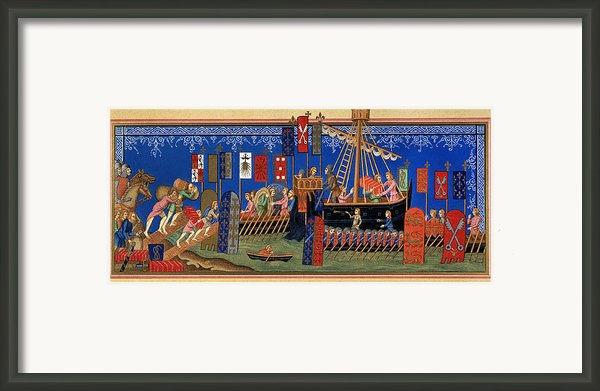 Crusades 14th Century Framed Print By Granger