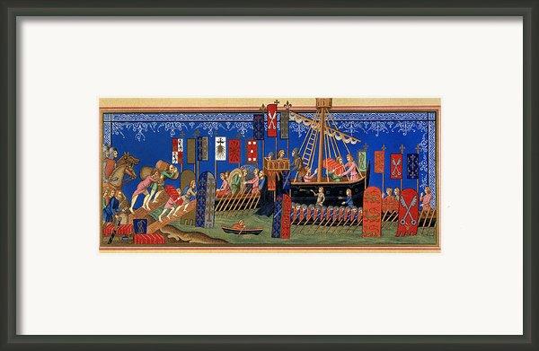 Crusades 14th Century Framed Print By Granger