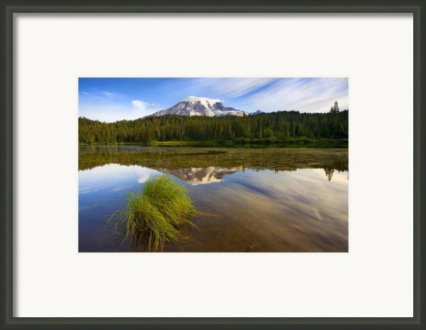 Crystal Clear Framed Print By Mike  Dawson