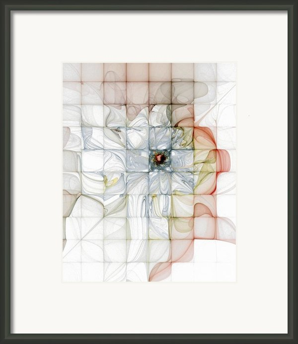Cubed Pastels Framed Print By Amanda Moore
