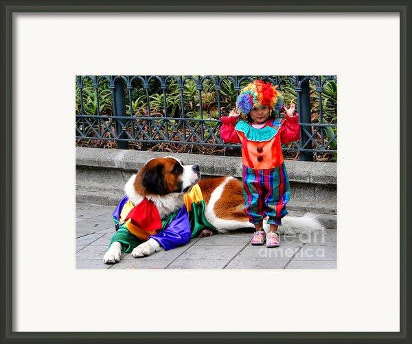 Cuenca Kids 136 Framed Print By Al Bourassa