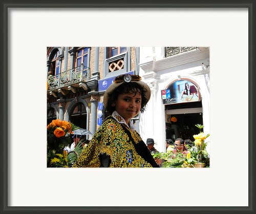 Cuenca Kids 146 Framed Print By Al Bourassa