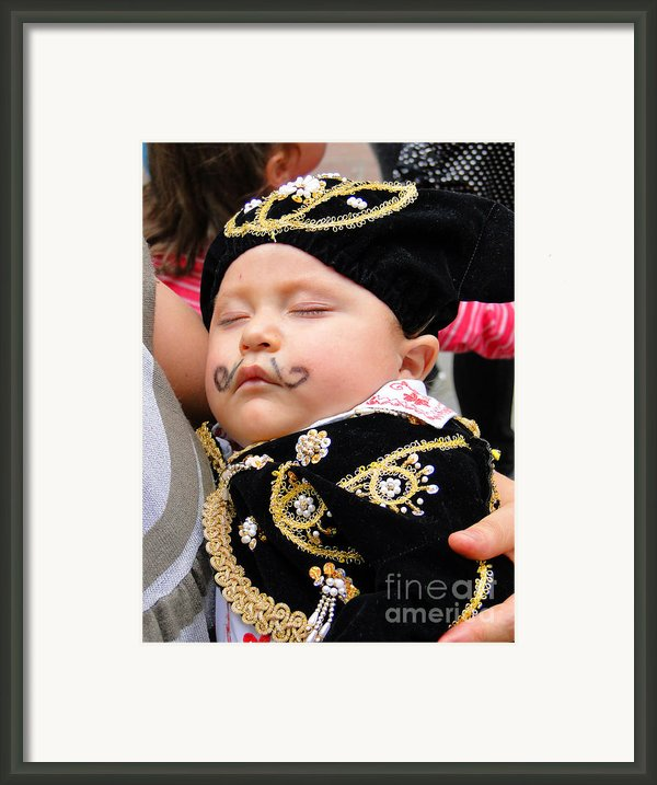Cuenca Kids 21 Framed Print By Al Bourassa