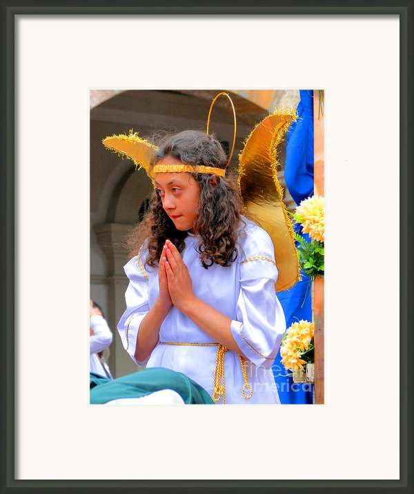 Cuenca Kids 41 Framed Print By Al Bourassa