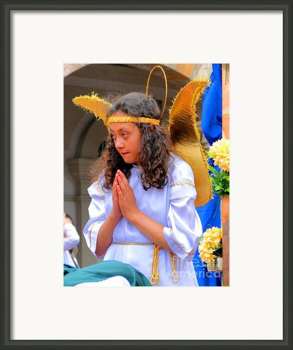 Cuenca Kids 41 Framed Print By Al Bourassa