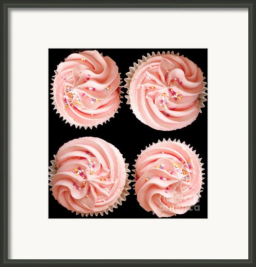 Cup Cakes Framed Print By Jane Rix