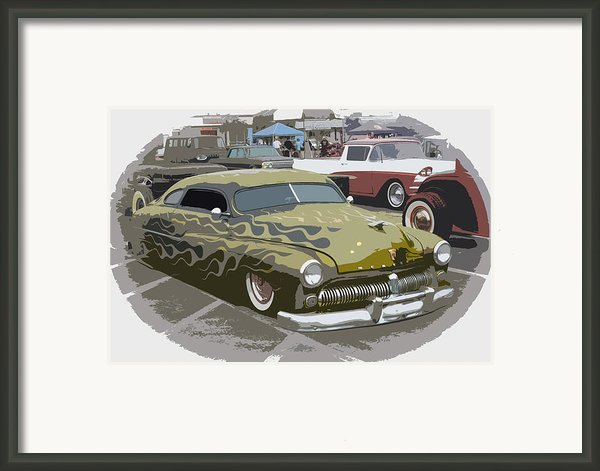 Custom Merc Framed Print By Steve Mckinzie