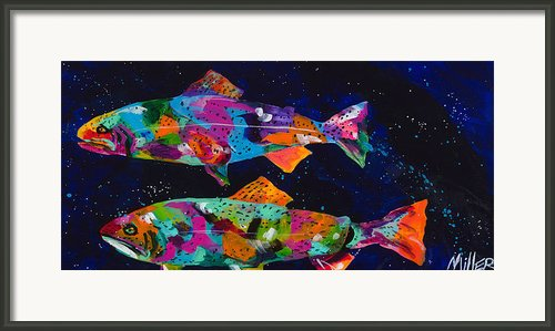 Cutthroats Framed Print By Tracy Miller