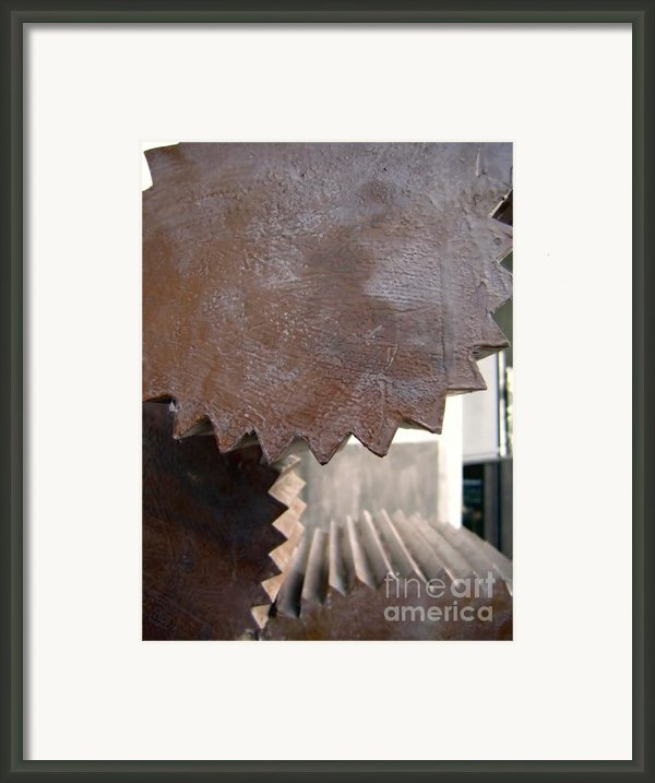 Cylindrical Gears Framed Print By Yali Shi