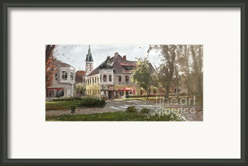 Czech Beauty Framed Print By Ondrej Soukup