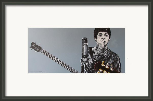 D-note Framed Print By Eric Dee