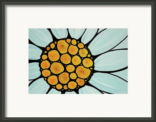 Daisy Framed Print By Sharon Cummings