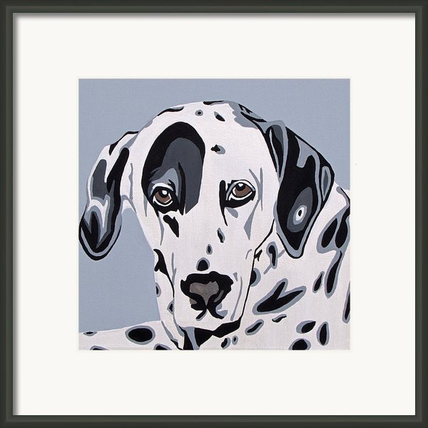 Dalmatian Framed Print By Slade Roberts