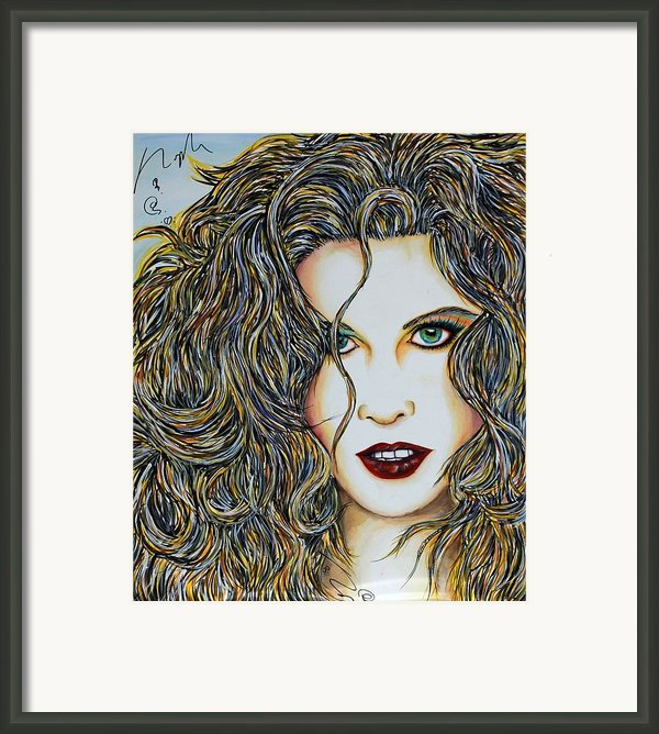 Dam...lay Me Down Framed Print By Joseph Lawrence Vasile