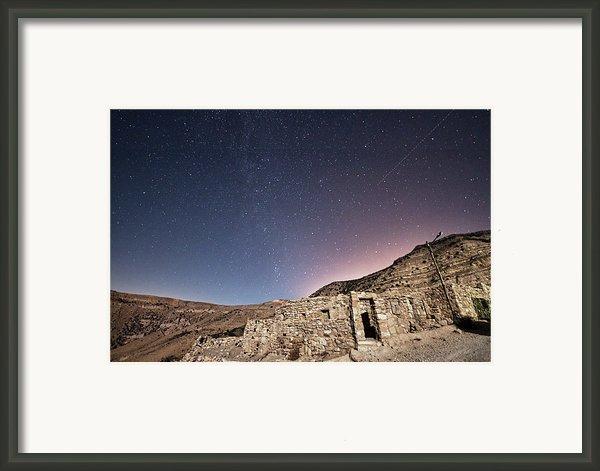 Dana Nature Reserve. Framed Print By Rayan Azhari - Email Rayanazhari@gmail.com