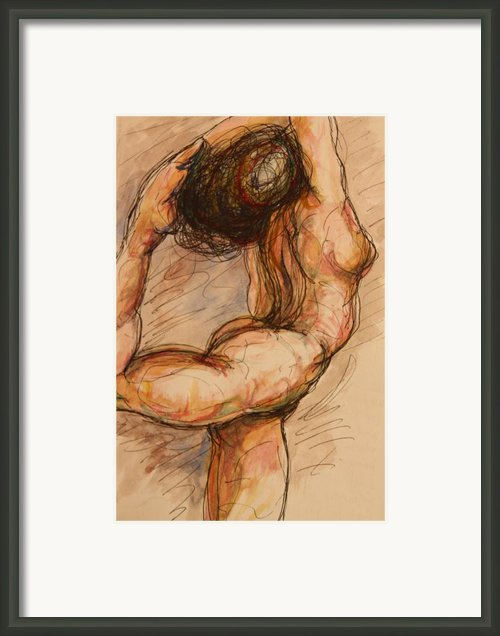 Dance After Rodin Framed Print By Dan Earle