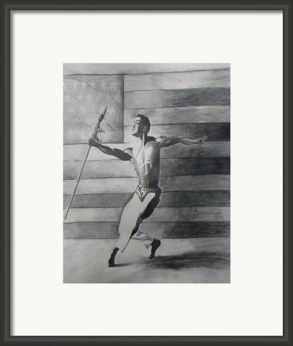 Dance For Freedom Framed Print By Stacy V Mcclain